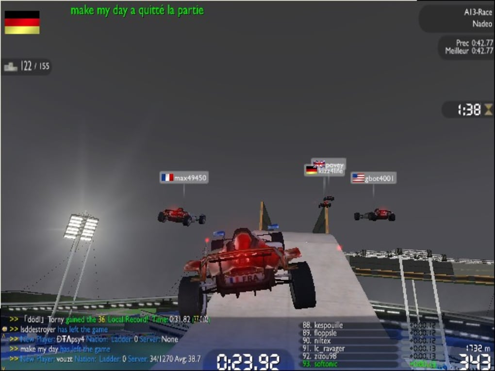 trackmania nation forever softonic