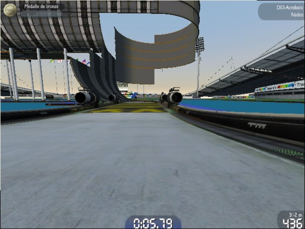 trackmania nation forever gratuitement en francais