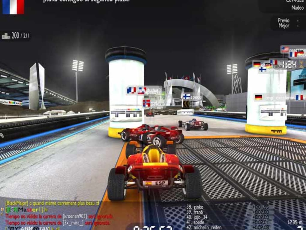 SOFTONIC FOREVER TÉLÉCHARGER NATION TRACKMANIA