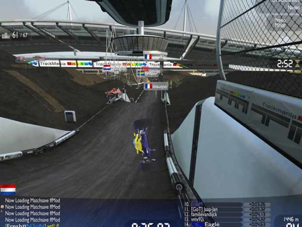 Trackmania Nations Forever - Download