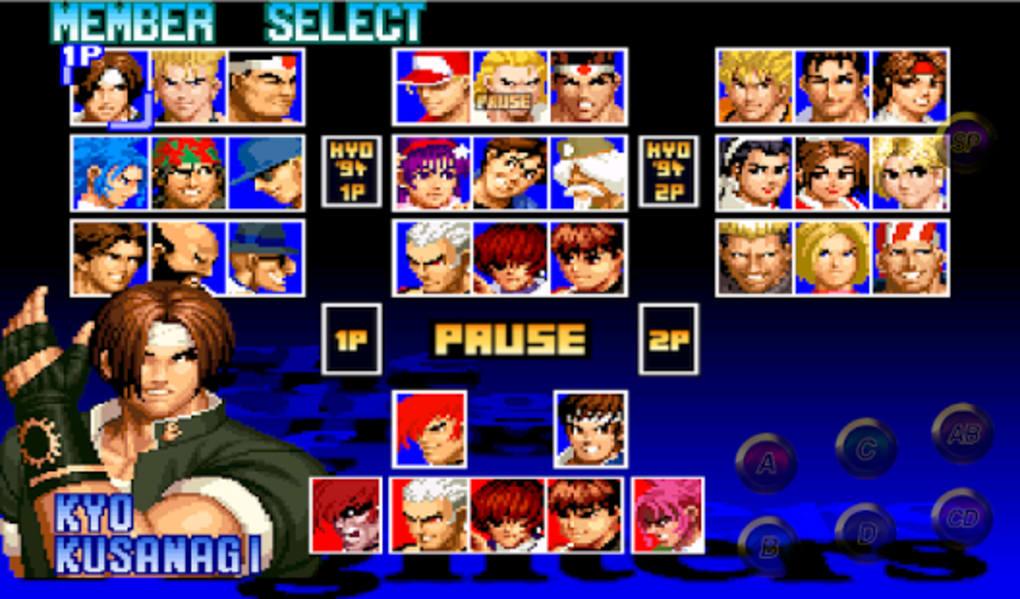 the king of fighters 97 para pc gratis baixaki