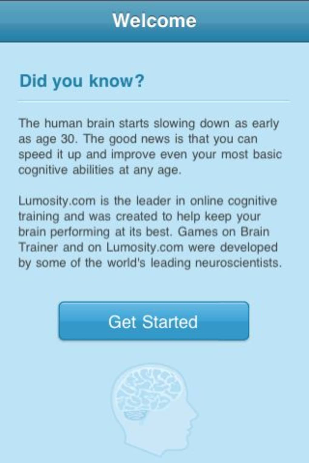 Brain Trainer by Lumosity com for iPhone - Download
