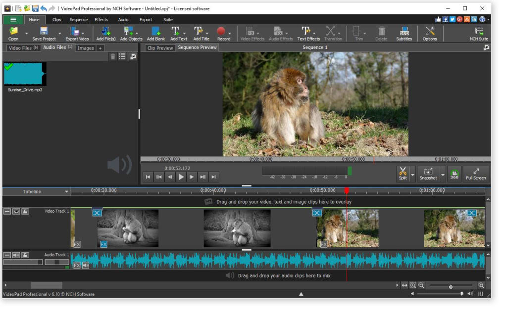 free download videopad video editor for windows 7 full version