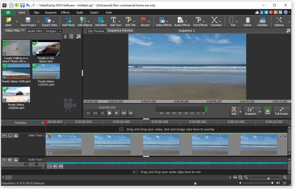 nch videopad video editor review