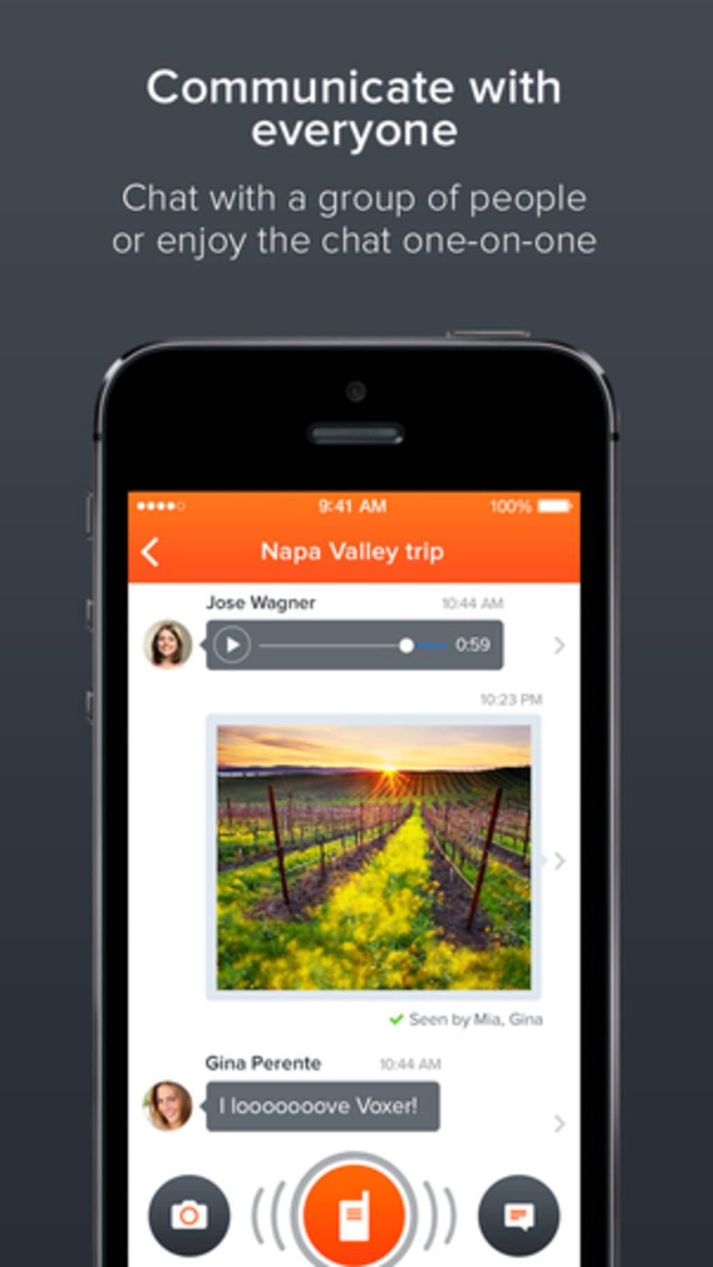 Voxer Walkie-Talkie PTT for iPhone - Download