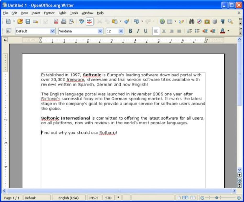 Portable OpenOffice org - Download