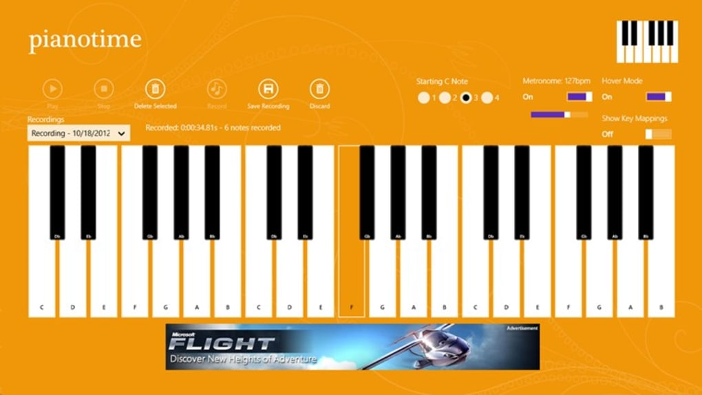 Piano Time for Windows 10 (Windows) - Download