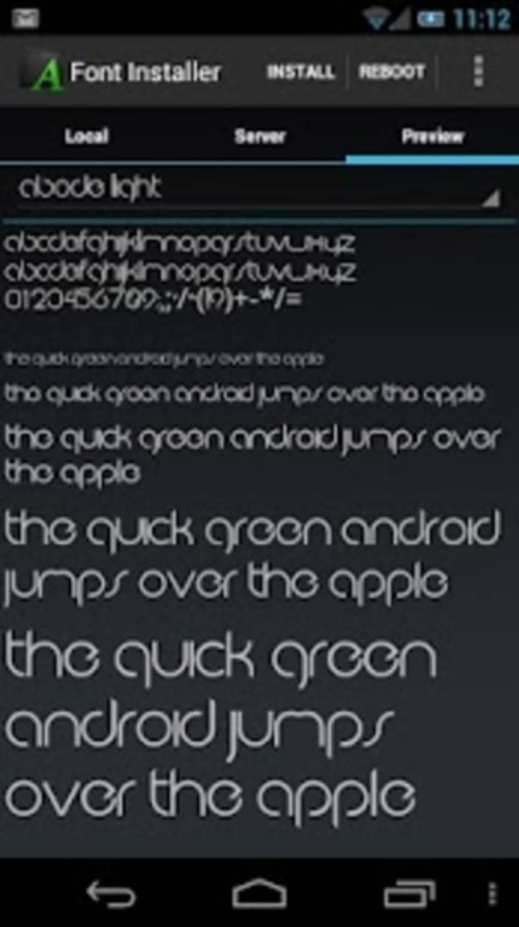 Font Installer for Android - Download