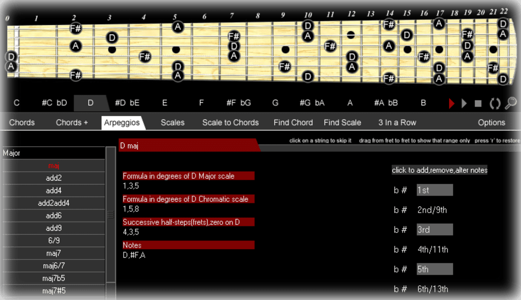 Chords Scales Download