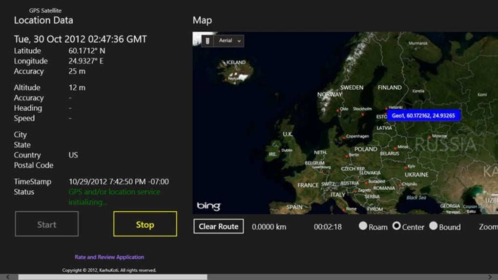 GPS Satellite for windows 8 - Download