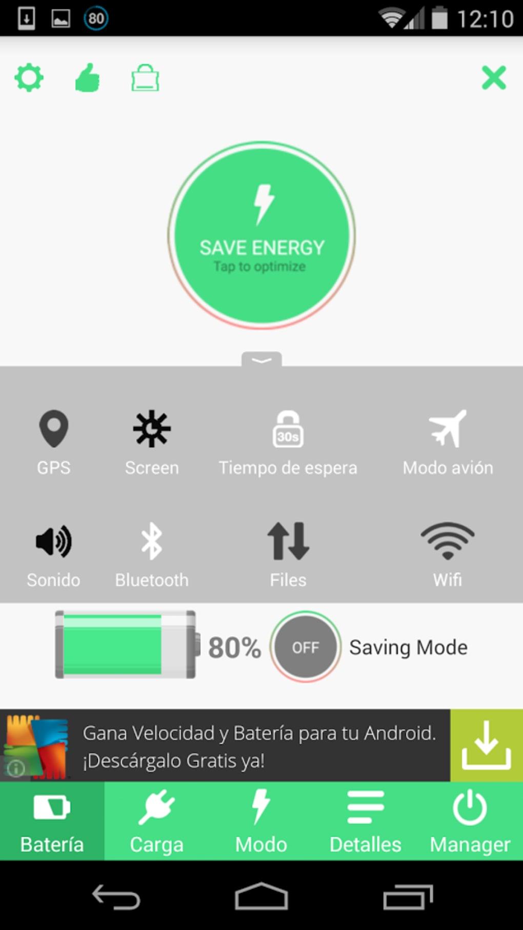 hd ahorradores de bateria