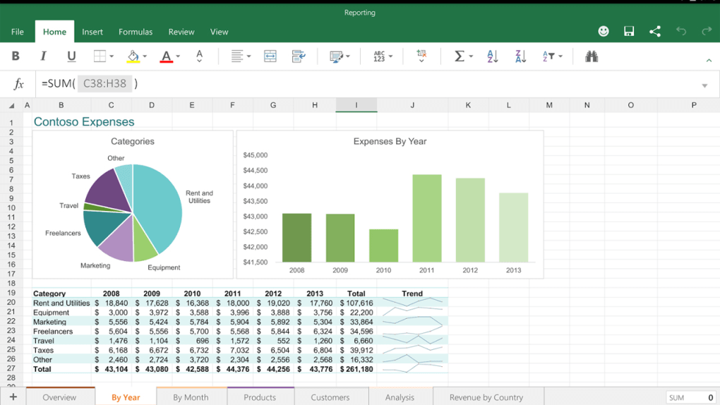 free download microsoft excel for android latest version 2020