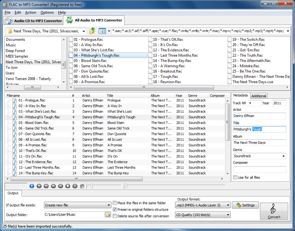 FLAC To MP3 Converter! - Download