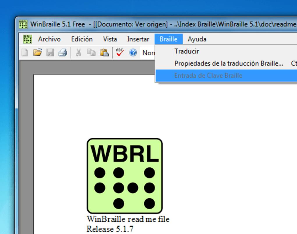 winbraille 5.1