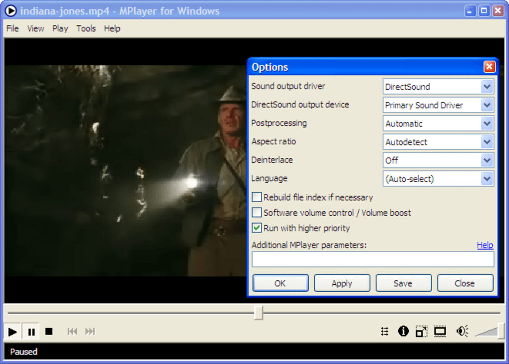 MPlayer Portable - Download