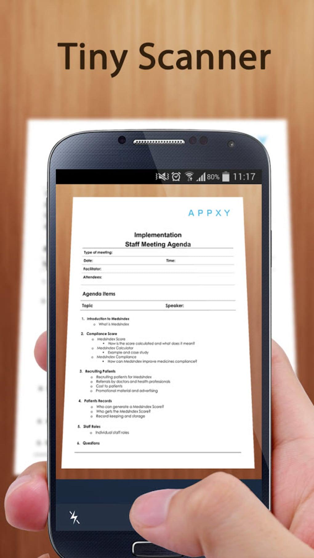 Tiny Scanner - PDF Scanner App for Android - Download