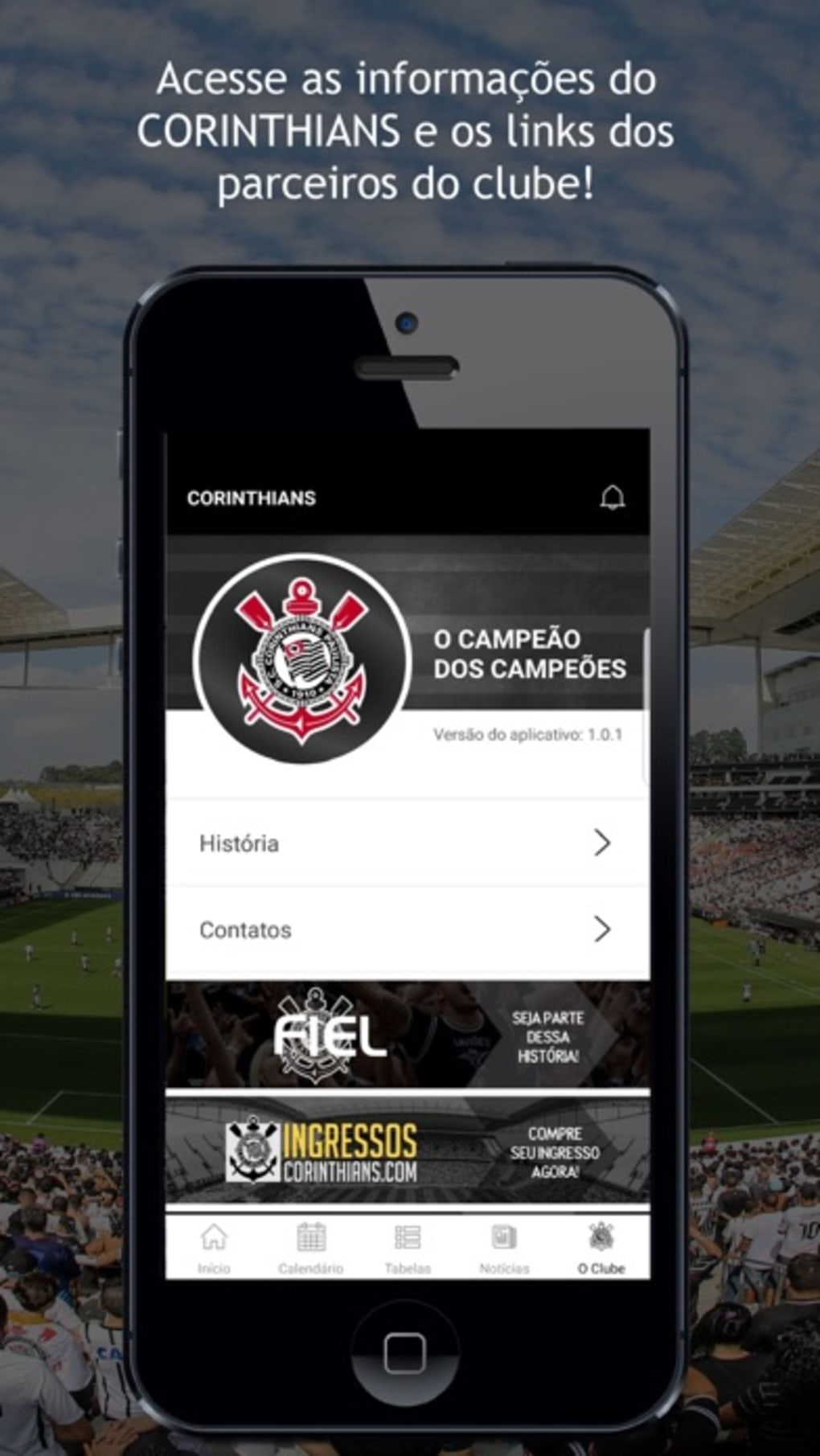 Corinthians Oficial Para Iphone