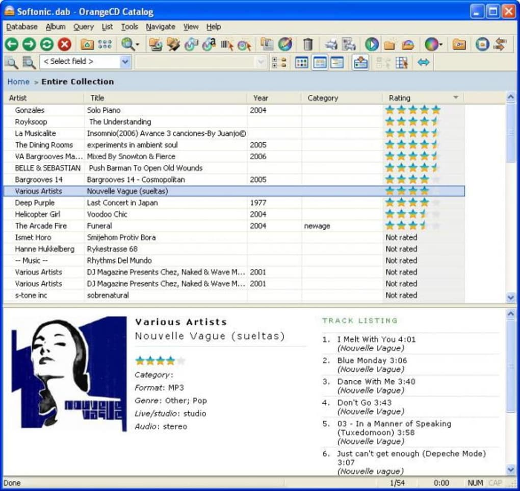 OrangeCD Catalog - Download