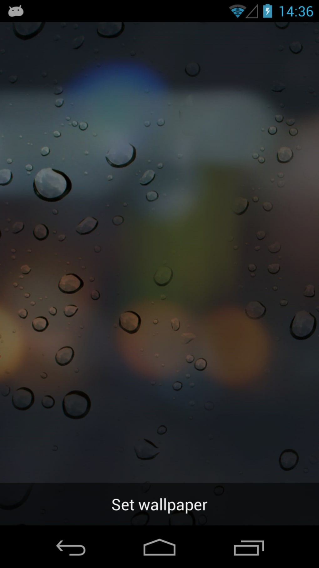 Rain Drops 3D Live Wallpaper for Android  Download