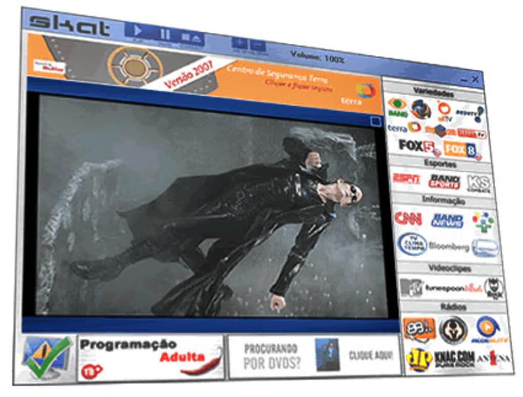 PROGRAMA TV BAIXAR SKAT