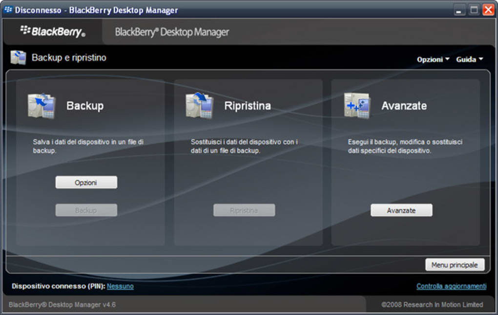 Blackberry desktop software download.