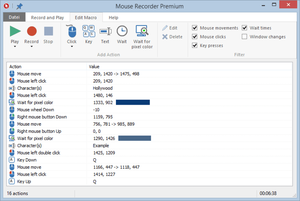 Mouse Recorder Premium - Download