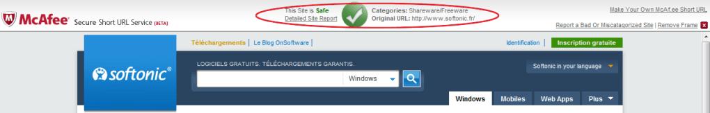 McAfee Secure URL Shortener - Download