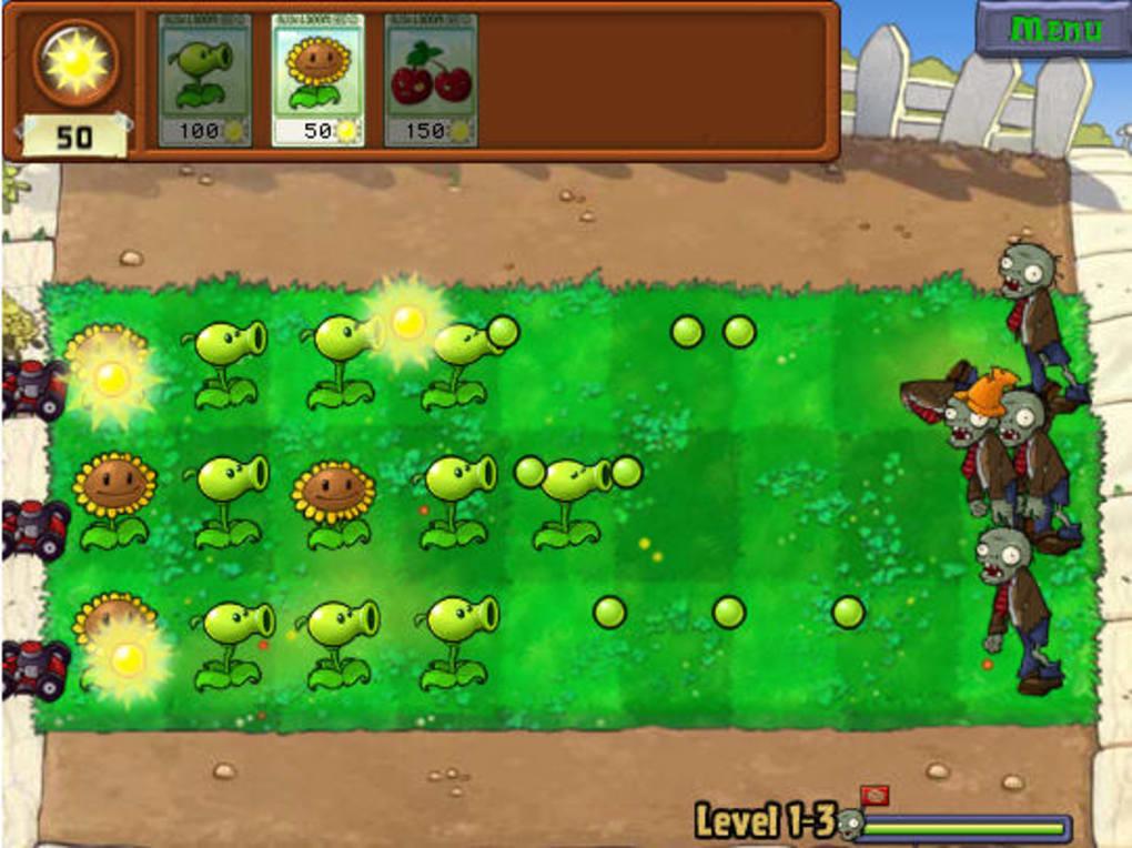 zombie vs plants windows 10