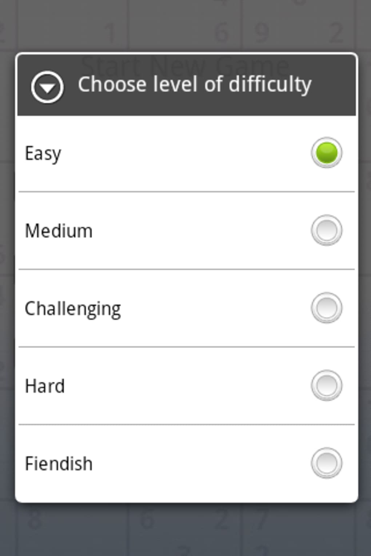Andoku Sudoku Pour Android Télécharger