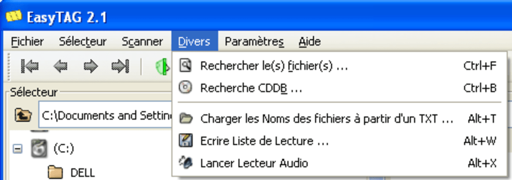 WINDOWS TÉLÉCHARGER GRATUITEMENT EASYTAG