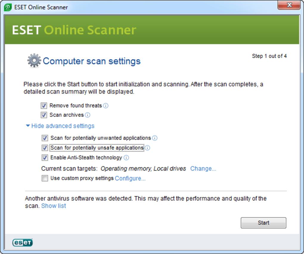 ESET Online Scanner - Download