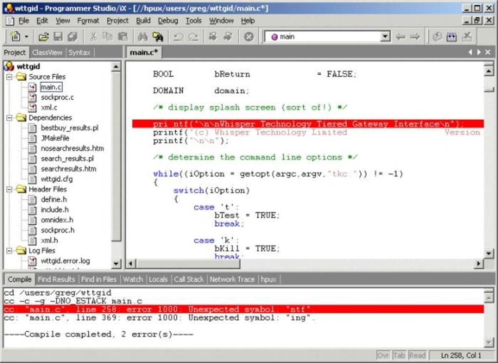 Programmer Studio - Download