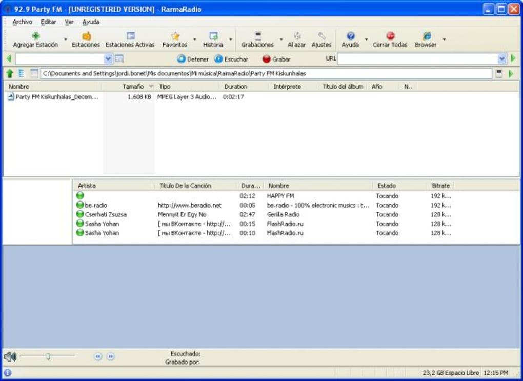 rarmaradio logiciel