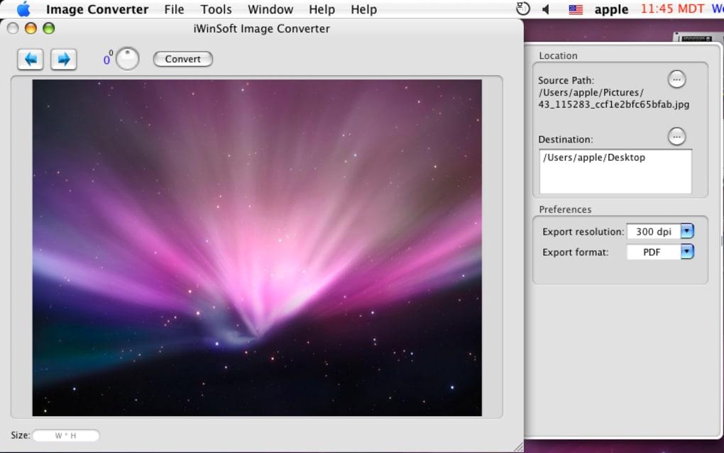 Image Converter for Mac (Mac) - Download