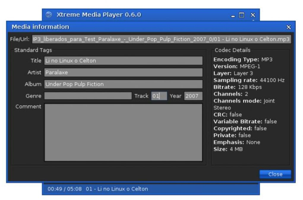 Xtreme Media Player - Download