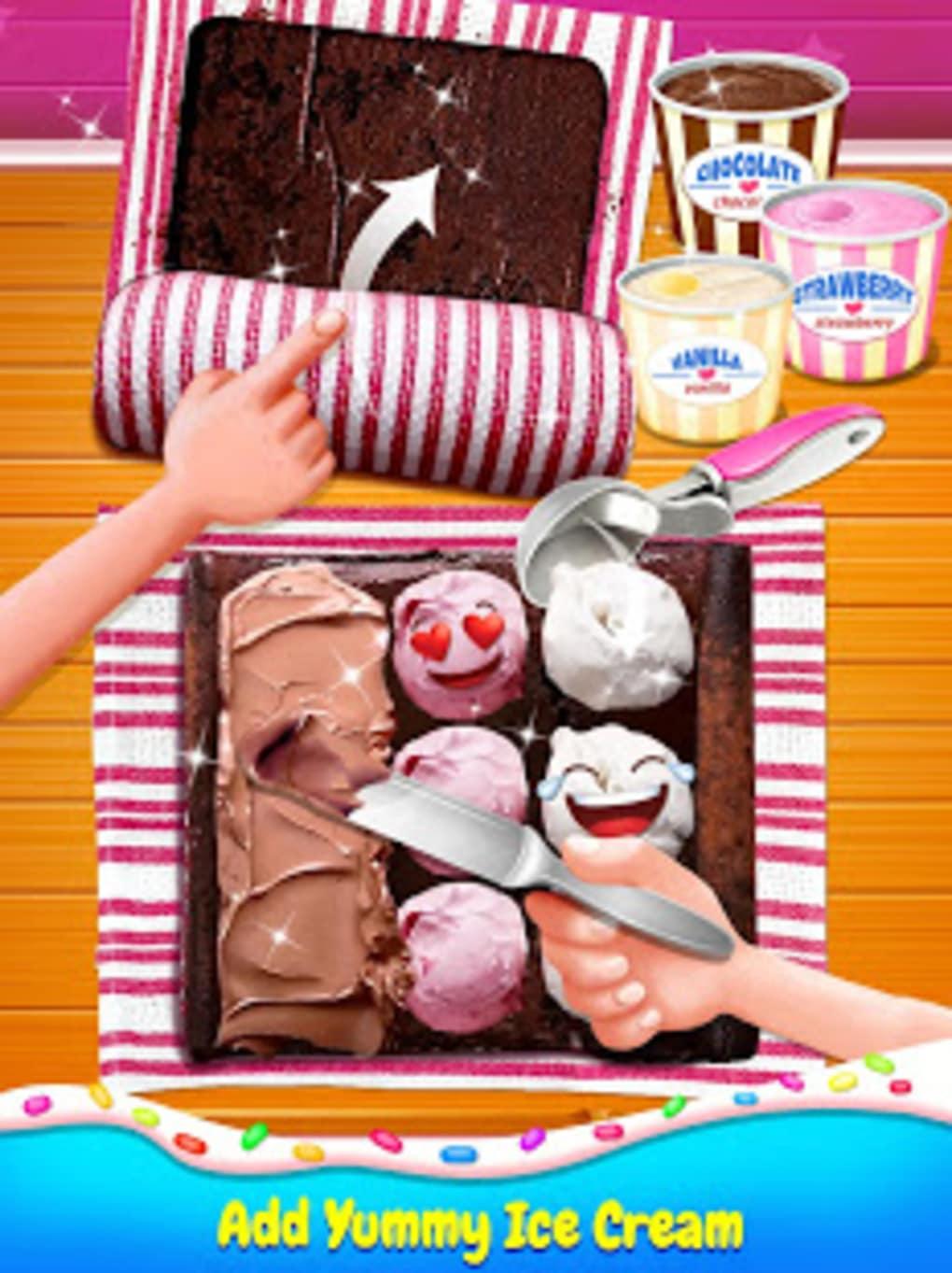 Ice Cream Cake Roll Maker  Super Sweet Desserts