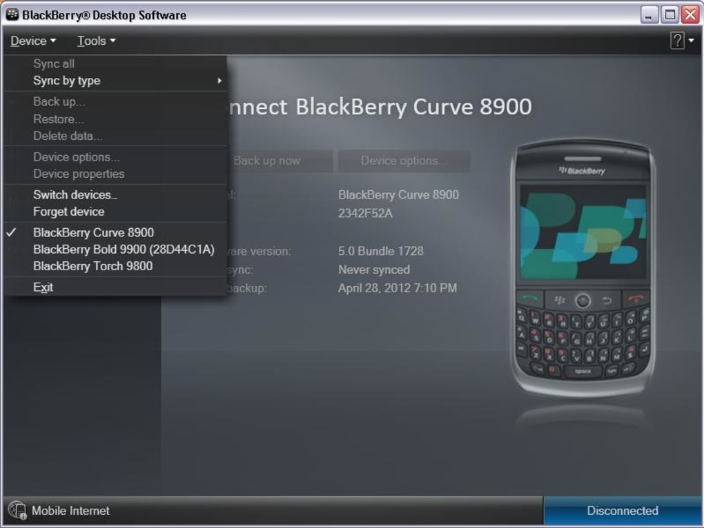 BlackBerry Desktop Software - Download