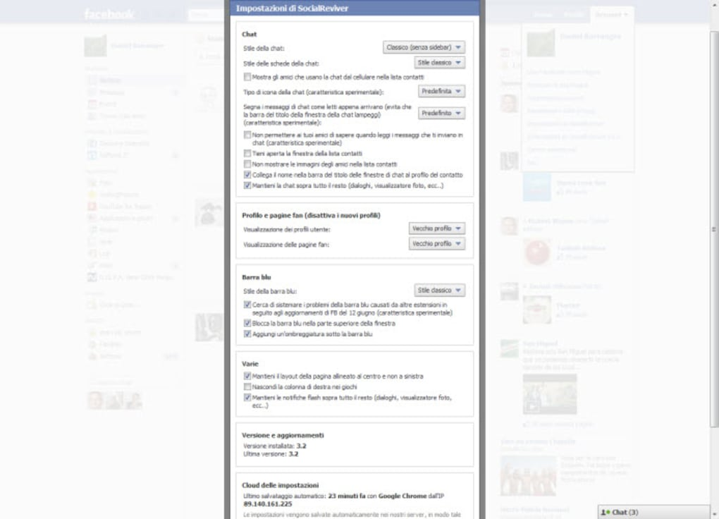 SIDEBAR CHAT DISABLER GRATUITEMENT CHROME TÉLÉCHARGER FB