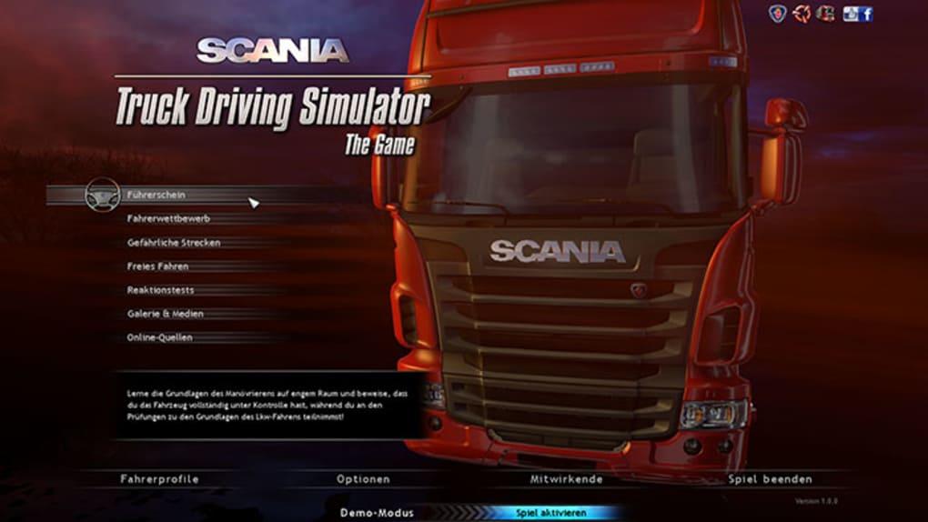 truck driving simulator free download full version