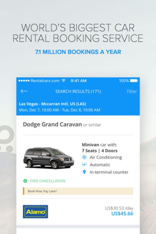 Rentalcars com Car rental App for iPhone - Download