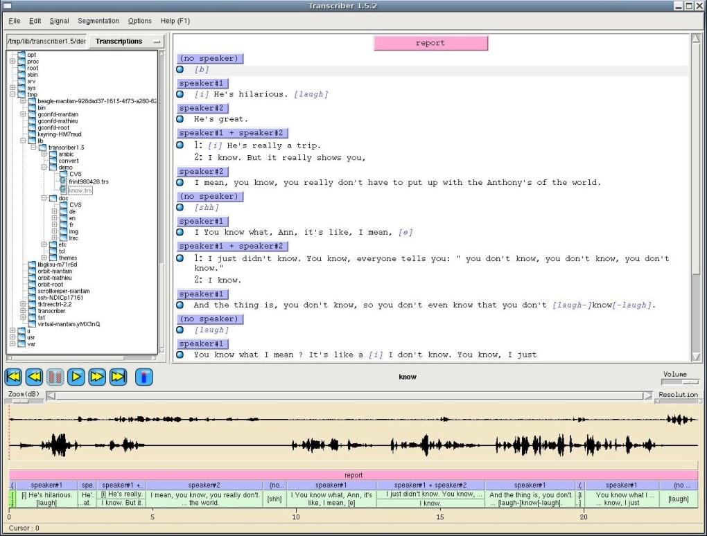 logiciel transcriber