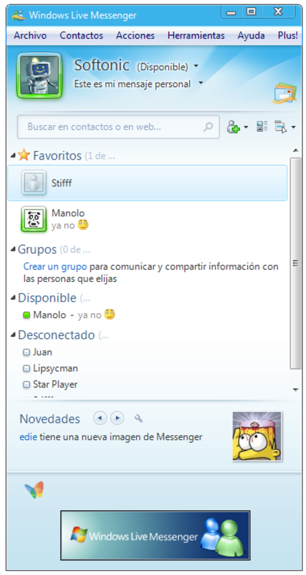 Windows Live Messenger - Download.com