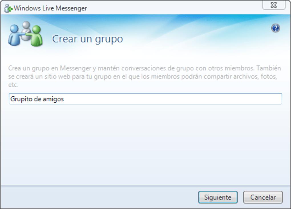 Scarica live messenger 8.1