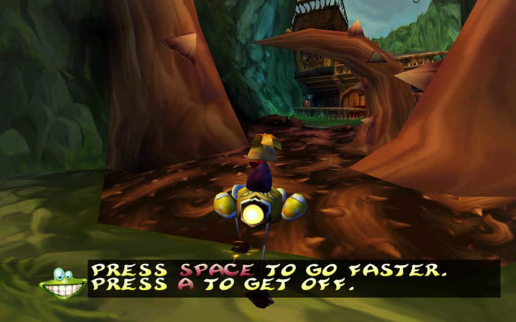 Free download games for pc: rayman 2 the great escape game.