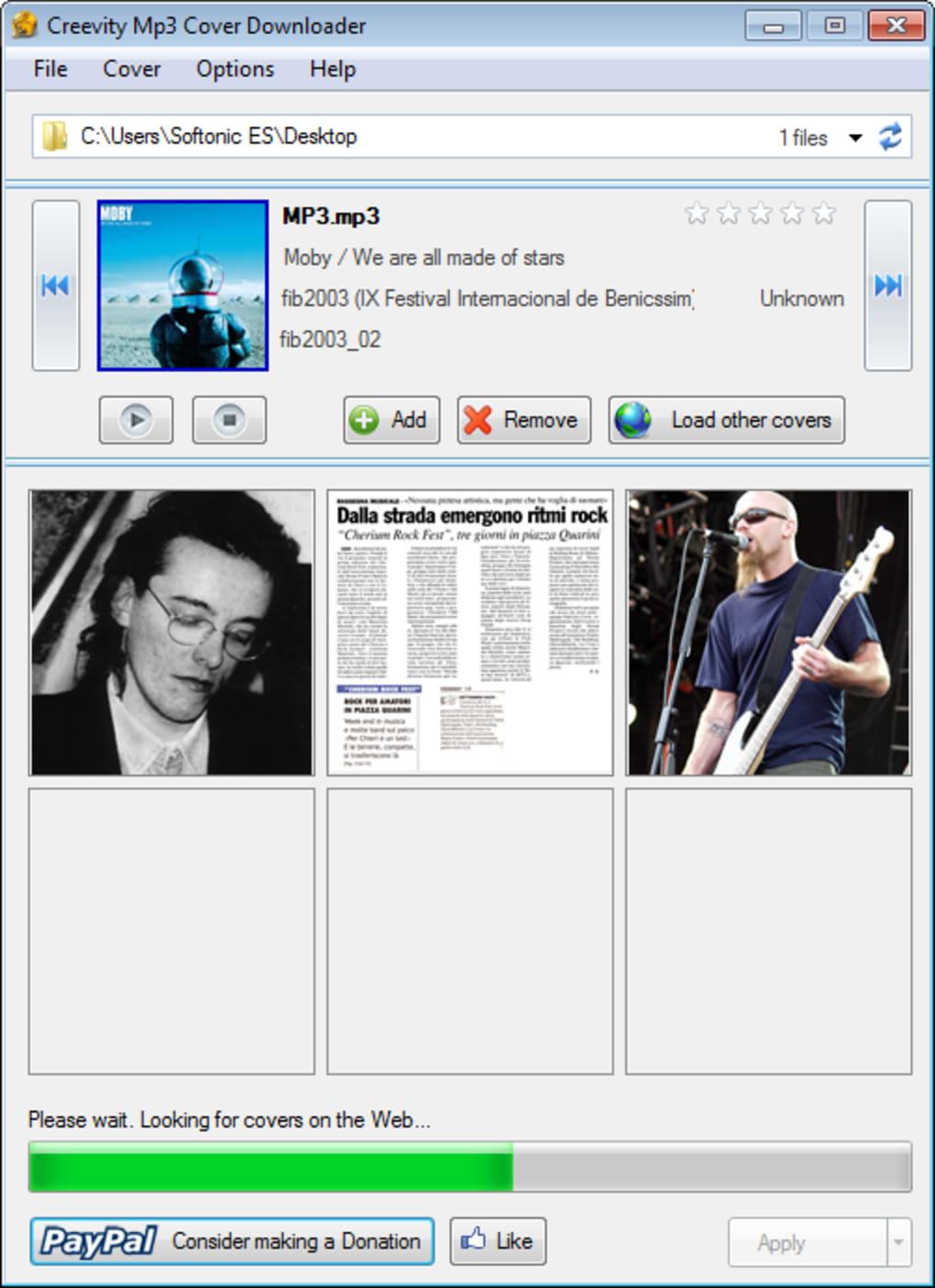 mp3 cover downloader software