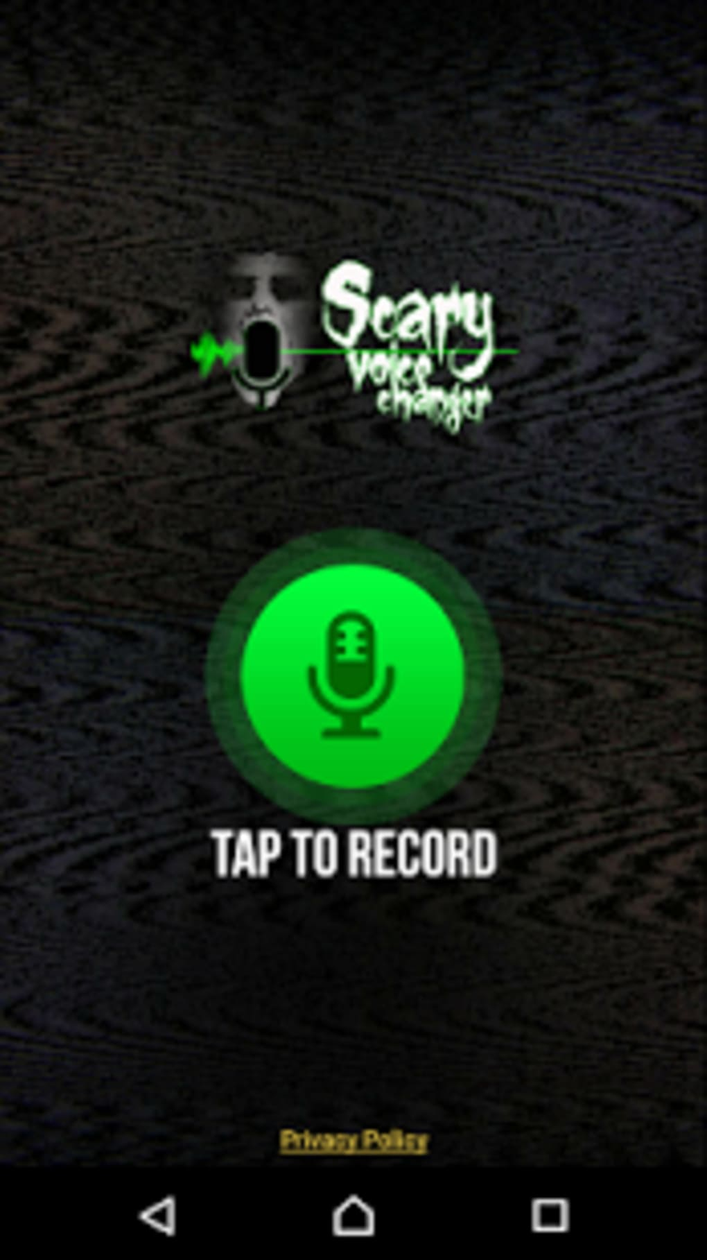 Scary Voice Changer Horror Sounds Voice Recorder for Android - Download
