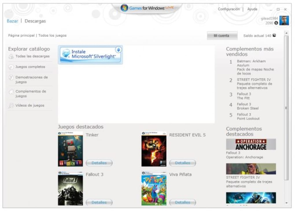 Games for Windows Marketplace Client (Windows) - Download