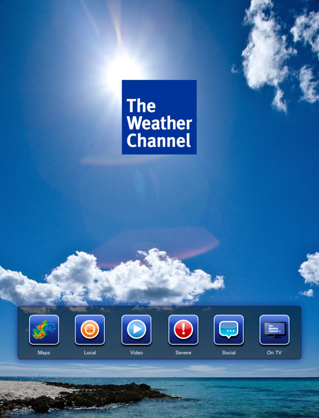 the weather channel max para iphone