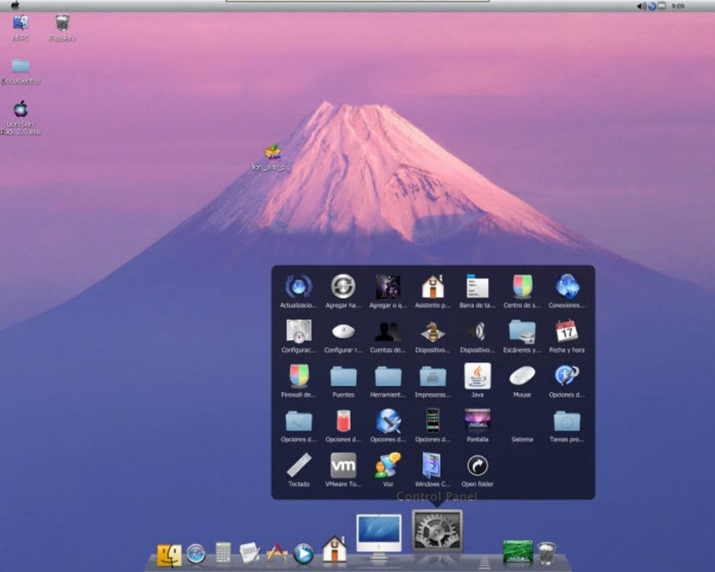 mac os x icon pack windows xp