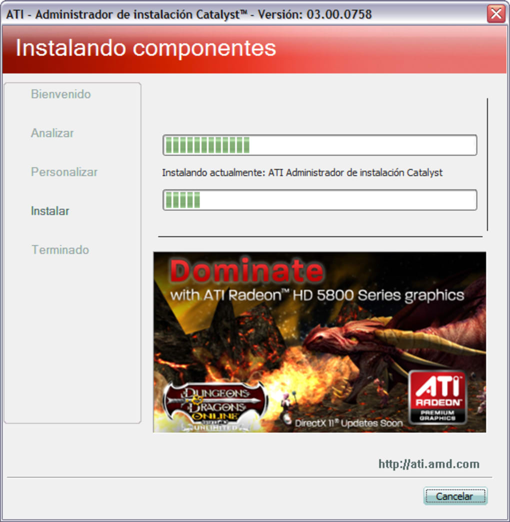 pilote carte graphique ati radeon 9200 pour windows 7